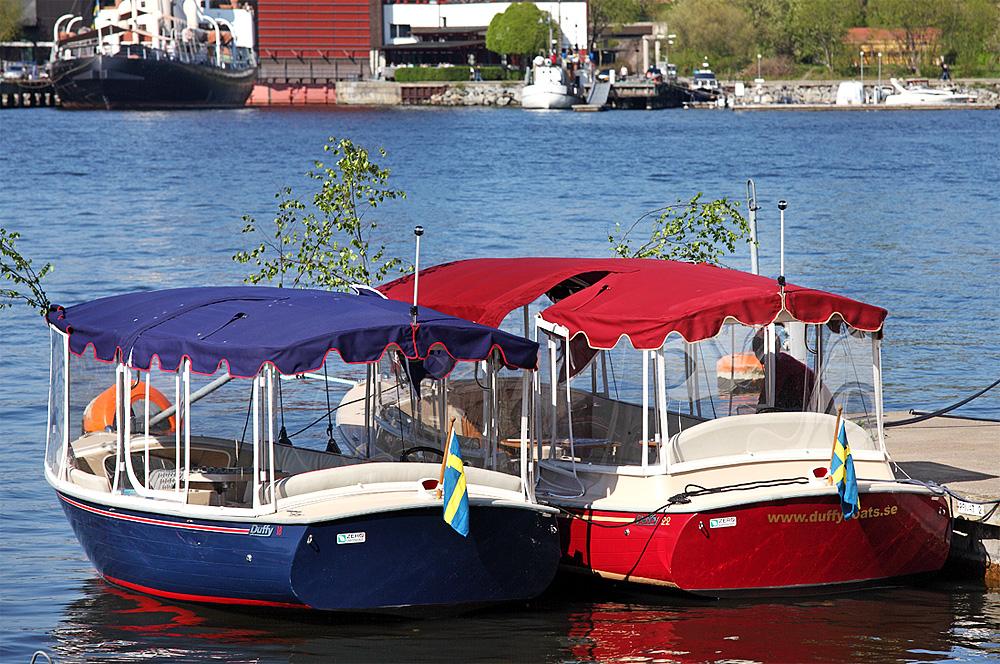 båtcharter med elsa och elma